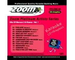 KARAOKE CDG Platinum Artists: Maroon 5 &, discoland.fi