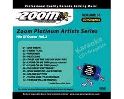 KARAOKE CDG Platinum Artists: Queen Vol., discoland.fi