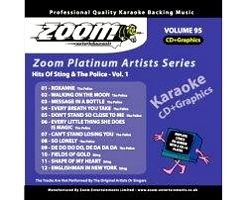 KARAOKE CDG Platinum Artists: Sting & The Police