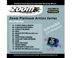 KARAOKE CDG Platinum Artists: Take That, discoland.fi