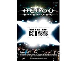 KARAOKE DVD Heavykaraoke: Hits Of Kiss karaoke DVD levyllä kappaleet:I WAS MADE FOR LOVING YOU 