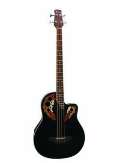 DIMAVERY OVB-400 Roundback, Acoustic Bass Guitar