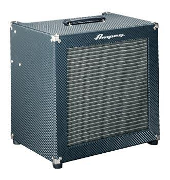 AMPEG B200R, Diamond Blue1x15 bass combo, 220 watt, tube preamp