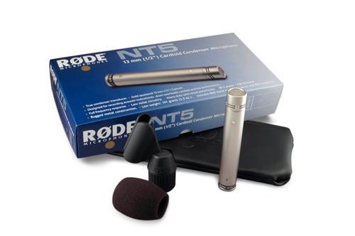 RODE NT5S - NT-5 SINGLE, yksittäinen kardioidi-kondensaattorimikrofoni