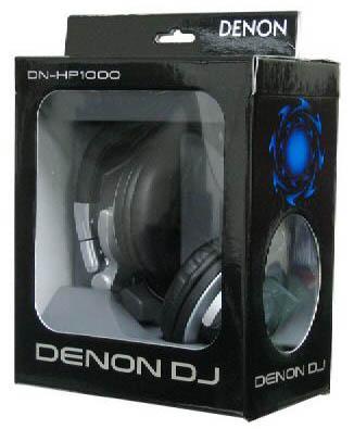 DENON DN-HP1000 Huippuluokan DJ-kuulokkeet 3500mW