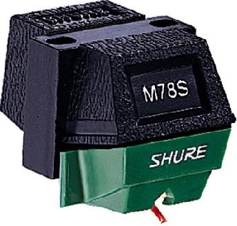 SHURE M78S Wide Groove/78 RPM äänirasi, discoland.fi