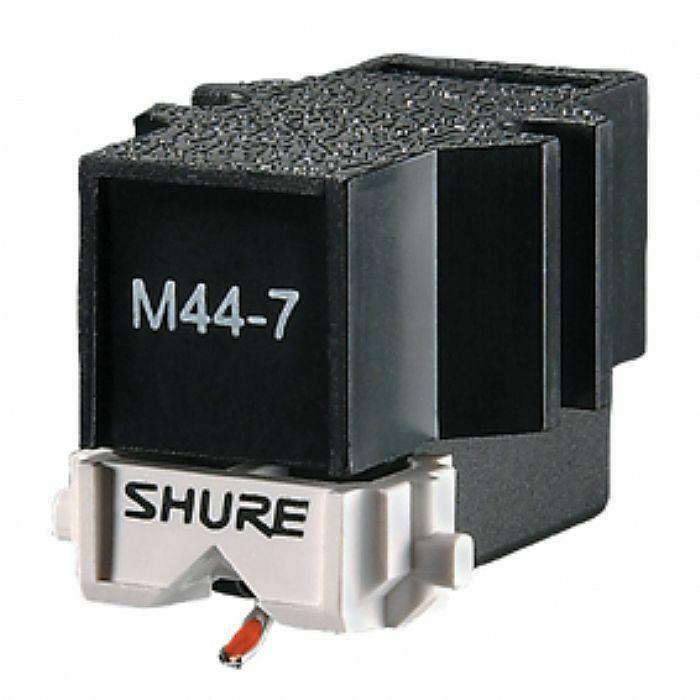 SHURE M44-7 tuhti rasia discokäyttöön, discoland.fi