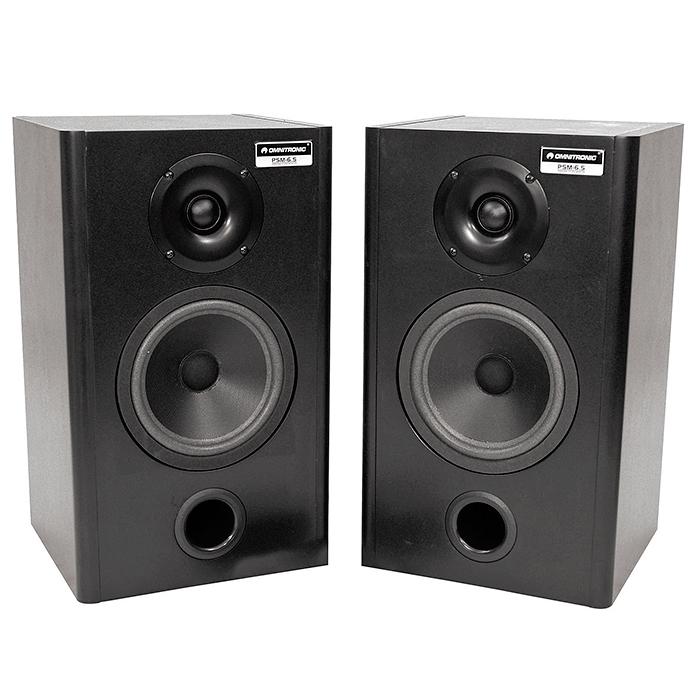 OMNITRONIC PSM-6.5 Studiomonitori pari, , discoland.fi