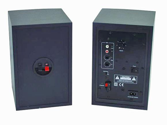 OMNITRONIC PMM-4 Studio Lähikenttä Aktiivi Monitori pari, monitors/pair, 2-way, aktiivi 4
