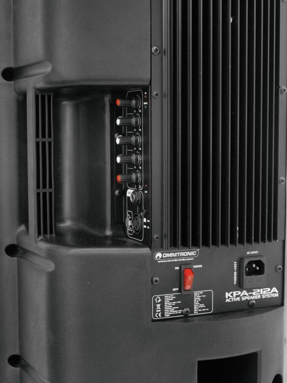 OMNITRONIC KPA-212A PA-cabinet, aktiivi 12