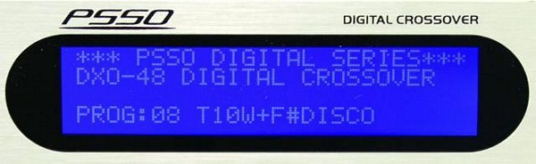 PSSO DXO-48 Digital System-controller, eq, jakosuodin, limitteri, delay..