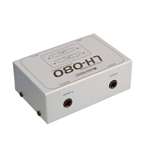 OMNITRONIC LH-080 Stereo häiriönpoistaja. Stereo isolator. Poistaa linjatasoisesta äänestä mahdollisesti maahäiriöistä johtuvia häiriöääniä. Parantaa linjatasoa.