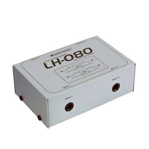 OMNITRONIC LH-080 Stereo häiriönpoista, discoland.fi