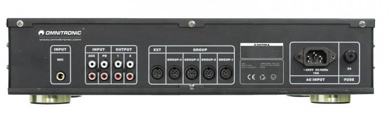 OMNITRONIC CPA-5200 conference amplifier/system