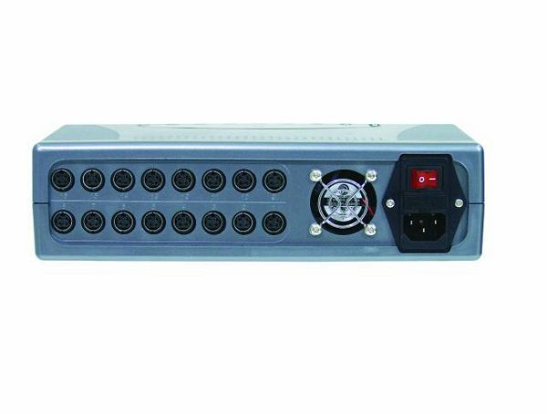 EUROLITE LED CB-16 Controller incl IR, DMX controller of high quality for EUROLITE LED Panel, Can be used for EUROLITE LED Panels/Cubes, Voidaan ohjata 16 kpl kuutioita tai paneleita.