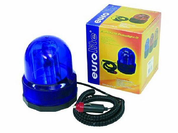 EUROLITE Poliisivalo, sininen malli, Police beacon Columbo,12V/21w starsky blue. näppärä pieni 12V magneetilla kiinnittyvä valo! Tässä tuoteessa mukana liitin suoraan auton 12V tupakansytytin virtaan.