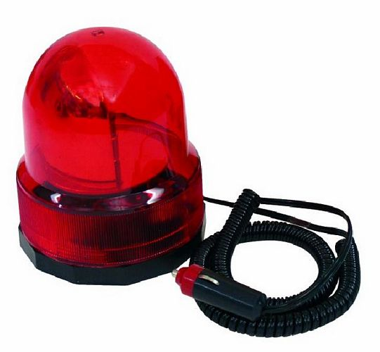EUROLITE Police beacon Columbo, red, 12V, discoland.fi