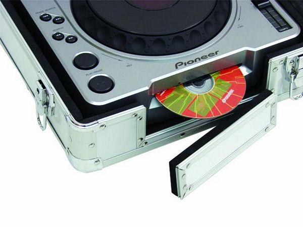 OMNITRONIC Kuljetuslaatikko DIGI-2 kahdelle CD-soittimelle ja 12