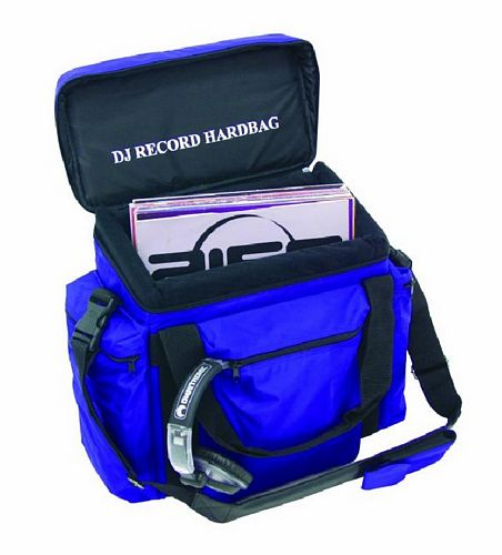 OMNITRONIC POISTUNUT TUOTE....... Record-bag RB-50, blue, approximately 50 LPs, useful and practical