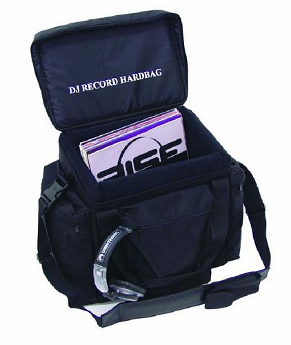 OMNITRONIC POISTUNUT TUOTE..... Record-bag RB-80, black, approximately 80 LPs, useful and practical