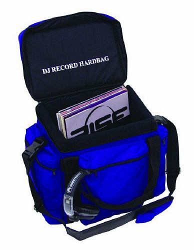OMNITRONIC POISTUNUT TUOTE....... Record-bag RB-80, blue, approximately 80 LPs, useful and practical