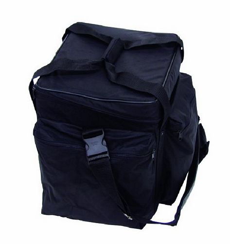 OMNITRONIC POISTUNUT TUOTE..... Record-bag RB-100, black, approximately 100 LPs, useful and practical