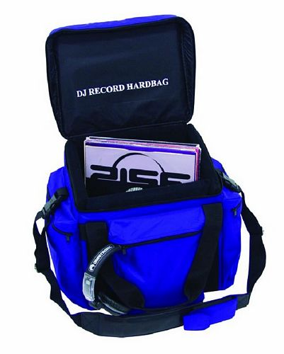 OMNITRONIC POISTUNUT TUOTE..... Record-bag RB-100, blue, approximately 100 LPs, useful and practical