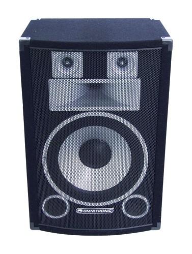 OMNITRONIC DS-123 3-way Full-Range speaker 12