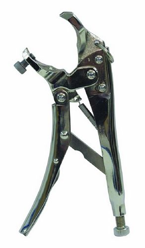 ALUTRUSS Trusstool truss mounting pliers, specially developed tool for the rigging of cross beam systems with cone connectors