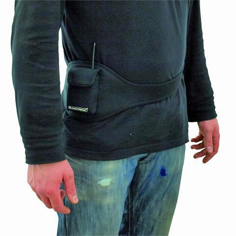 OMNITRONIC Loppu!!Belt for Bodypack receiver - transmitter, aerobic tms. tasku lähettimen vyö