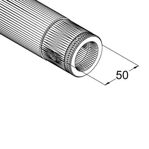 ALUTRUSS SINGLELOCK Putki SP-3000 QUICK-LOCK Pipe