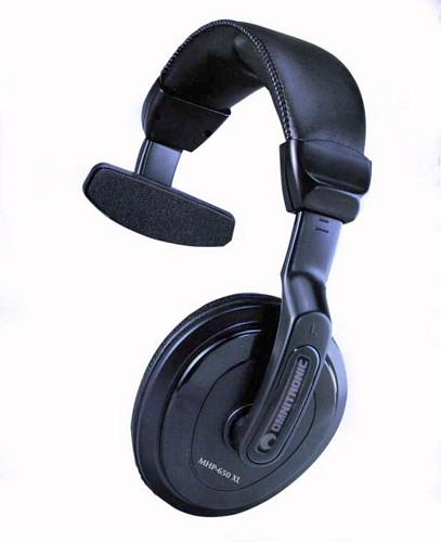 OMNITRONIC MHP-650XL Comfortable Single Sided Headphone