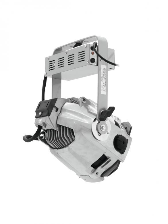 EUROLITE ML-56 ZOOM CDM 12-27° CDM hopea ,ammattitason Multilinssi Spotti, 150W kaasupurkauslampulle! Tässä heittimessä säädettävä focus. Mitat 220 x 280 x 400 mm sekä paino 7kg.