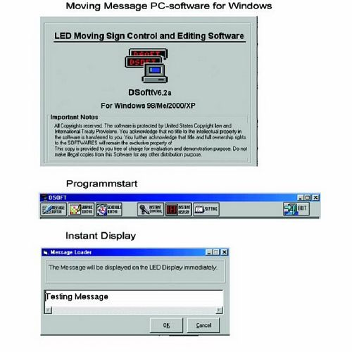 EUROLITE Moving Message PC-software for , discoland.fi