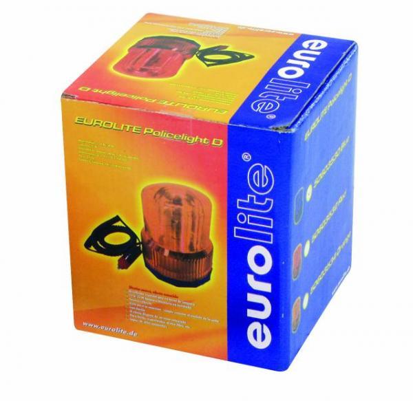 EUROLITE LOPPU!!Poliisivalo DER-1221 oranssi magneetilla kiinnitettävä, tyyli Derrik, 12 V/21 W tupakansytytin pistoke!