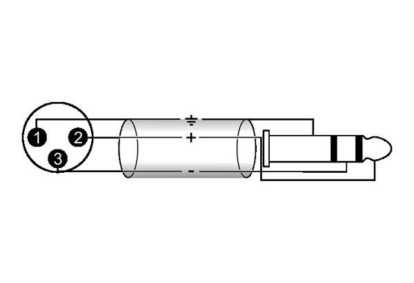 OMNITRONIC Snake-kaapeli 15m 8x XLR-uros - 8x Jack Plug 6,3mm stereo
