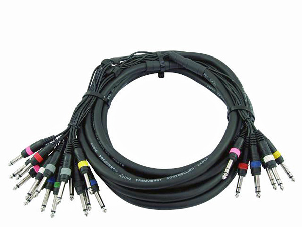 OMNITRONIC Snake Cable 8 x Jack Plug 6,3, discoland.fi