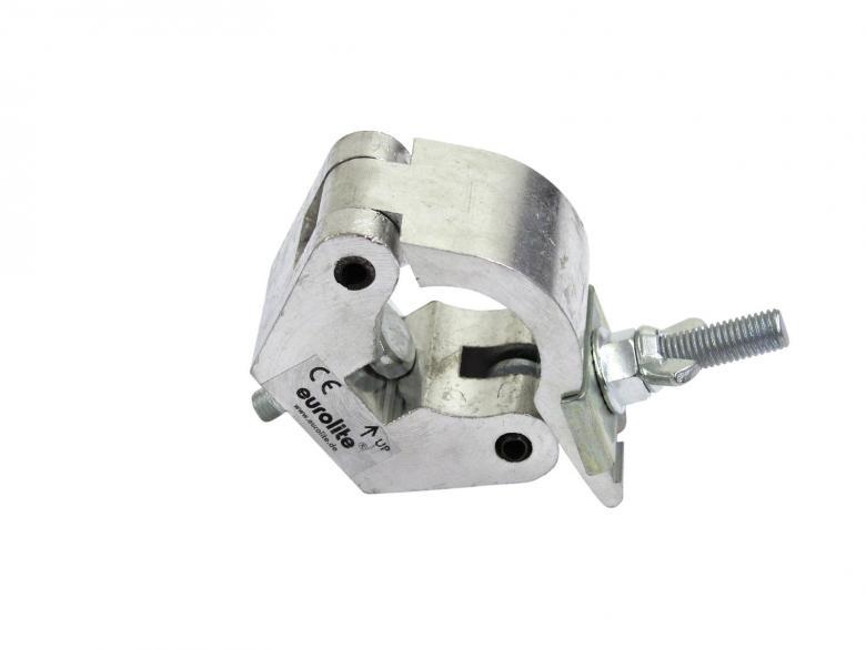 EUROLITE TPC-50 Alumiininen liitin 50mm putkelle, max kuoma 800kg, mitat 150 x 115 x 55 mm sekä paino 0,7kg.