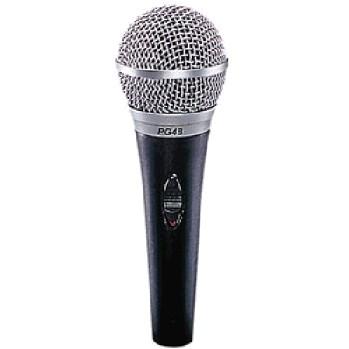 SHURE PG48-XLR, Speech/Vocal microphone,, discoland.fi