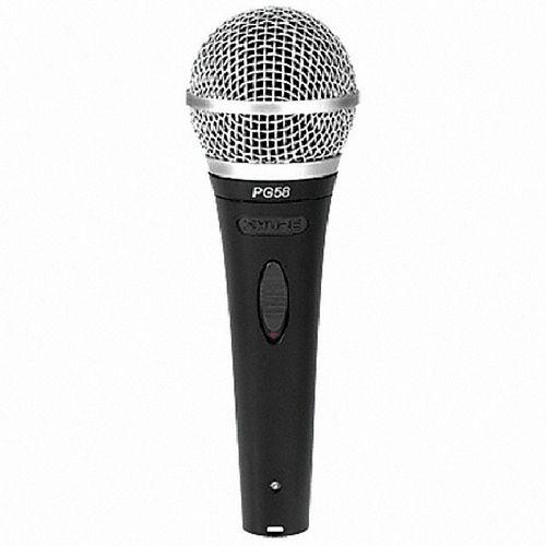 SHURE PG58-XLR-B, Vocal microphone, hert, discoland.fi
