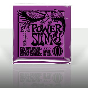 POISTO Ernieball EB-2220 Nikkeli kielet kitaraan Power Slinky Nickel Wound .011 - .048 Purple pack