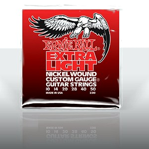 ERNIE BALL EB-2210 Extra Light Electric , discoland.fi