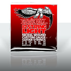 ERNIE BALL EB-2233 12-string Light Nicke, discoland.fi