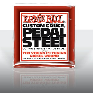 ERNIE BALL EB-2502 Pedal Steel Nickel Wound 10-string E9 Tunning