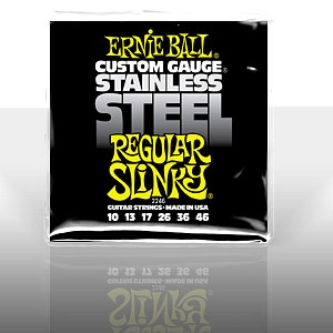 ERNIE BALL EB-2246 Stainless Steel Regular Slinky .010 - .046