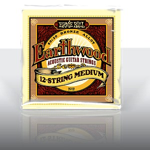 ERNIE BALL EB-2012 Earthwood 12-string M, discoland.fi