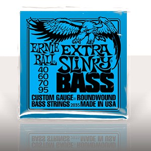 ERNIE BALL EB-2835 Extra Slinky Bass Nickel Wound .040 - .095