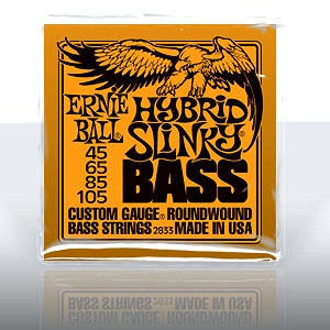 ERNIE BALL EB-2833 Hybrid Slinky Bass Nickel Wound .045 - .105