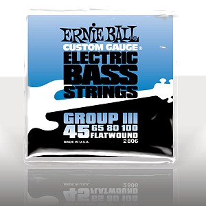 ERNIE BALL EB-2806 Flatwound Bass Group III .045 - .100