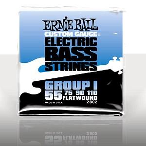 ERNIE BALL EB-2802 Flatwound Bass Group , discoland.fi